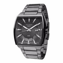 Relógio Technos Masculino Legacy Quadrado Grande 2415be/4c