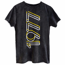 Camiseta Masculina Marmorizada Luan Santana Ls 1977 Bandup