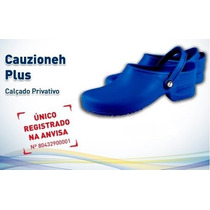 Sapato Hospitalar Cauzioneh Plus Azul