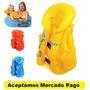 Chaleco Salvavidas (flotador) Inflable Para Niño Y Niña
