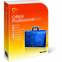 Licença/chave - Office 2010 Pro Professional 32/64 Bits