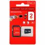 Memoria Micro Sd 2gb Adaptador/ Blister/ Celular/ Nueva
