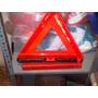 Triangulo Seguridad Doble Cara Y Cables Auxiliares