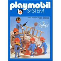 Playmobil 3234 Equipo De Bomberos De 1985 Descontinuado Js B