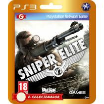 Sniper Elite V2 (código Ps3) - Envio Rápido!