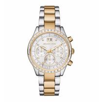 Relógio Feminino Michael Kors Prata/dourado Mk6188 Sem Caixa