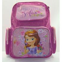 Mochila Escolar Infantil Grande Princesa Sofia, Chenson
