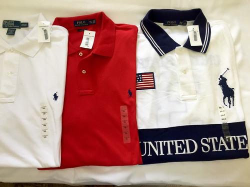 Camisa Polo Ralph Lauren Original Tamanho Extra Grande - R  85 8781d0ddc1816