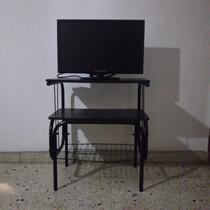Televisor Daewoo Led 24 Con Mesa