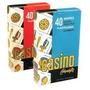 Naipes Casino 40 Cartas Estilo Español Plastificadas Lavable