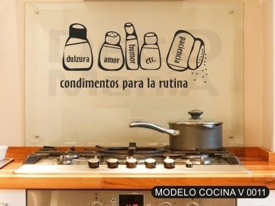 Vinilos Decorativos Cocinas - Comedor -más De 500 Diseños!!! - $ 99 ...