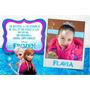 Invitaciones Tarjetas Infantiles Cumpleaños Con Foto 8x12 Cm
