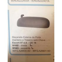 Macaneta Porta Ford Escort Zetec 1997/2003 Ld Esquerdo 9163