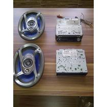Reproductor Pioneer Deh P4300 Con Cornetas