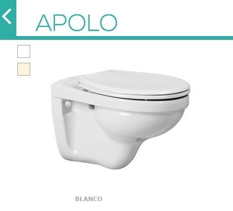 Wc apolo suspendido vilbomex blanco 3 en for Marcas de wc