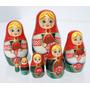 Muneca Rusa Tradicional, Matrioska Artesania Hecha En Rusia