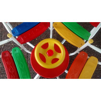 Calesita Integral - Reforzada - Listones Plasticos