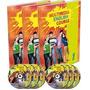 English Course Multimedia 3 Vol. + 3 Dvd + 3 Cd Novedad!!
