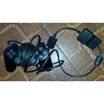 Joystick Sony Ps2 Original Analogico Dualshock + Entrada Usb