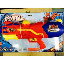 Pistola De Agua Super Large Spiderman....