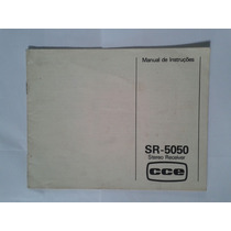 Manual Original Receiver Cce Sr 5050