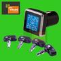 Kit Sensor Pressão Pneu Tpms Monitoramento Em Tempo Real