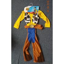 Disfraz De Woody Toy Story Original Talla 8 Años Sin Sombrer