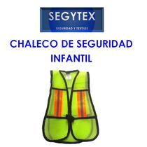 Chaleco De Seguridad Malla Niños Con Relfejante
