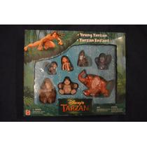 Juguetes De Coleccion! Set De Tarzan Disney (año 1999)