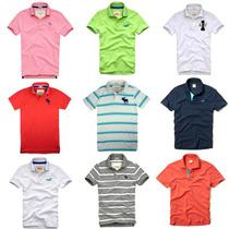 Camiseta Gola Polo Abercrombie Hollister Ralph Lauren Tommy