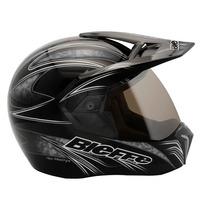 Capacete Moto Bieffe 3 Sport New Freestyle Preto Lançamento