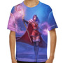 Camiseta League Of Legends Leblanc Natalina Infantil