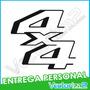 Calcomania 4x4 Super Duty F150 250 350 450 Entrega Personal