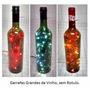 Garrafa Iluminada Led (vinho Bebidas Luz Iluminação Natal)