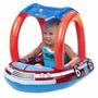 Boia Bebê Inflável Cobertura Solar Piscina Infantil Carro