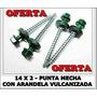 Tornillo Autoperforante Hexagonal Puntamecha 14x2 X 1000 Uni