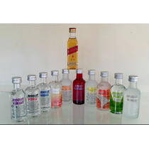 Mini Vodka Absolut 50ml - Kit 10 Sabores - Ganhe Red Label