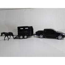 Mitsubishi L200 Triton Reboque Carreta Cavalo Rampa Engate