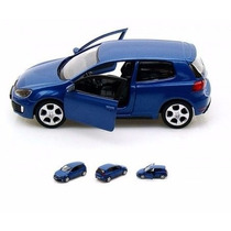 Miniatura Volkswagen Golf Gti 2 Portas Coleção Escala Cl13