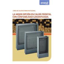 Calefactor Patagonia 9030 Tiro Balanceado 3000kcal Gris