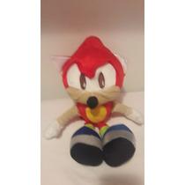 Boneco De Pelúcia Sonic Vermelho