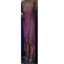 Vestido Rosa Corte Princesa