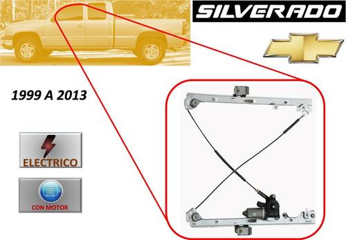 99-13 Silverado Elevador Electrico Con Motor Delantero Izq ...