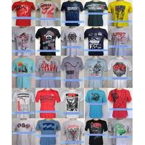 Kit 50 Camisas Camisetas De Marca Atacado Revenda Cada R$ 8
