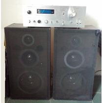 Amplificador Pionner Sa-608 Y 2 Cornetas