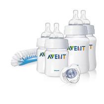 Avent Set Recien Nacido Para Bebes Mamaderas Cepillo Chupete