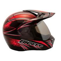 Capacete Moto Bieffe 3 Sport Freestyle Vermelho Lançamento