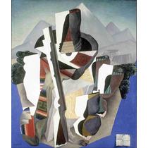 Lienzo Tela Paisaje Estilo Zapata Diego Rivera 1915 59 X 50