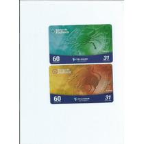 Cartões Telefonicos - Tarjinha Minas - (2 Cartões) - 5.00