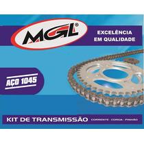 Kit Tração Relação Transmissão Fazer 250 - Aço 1045 - Mgl